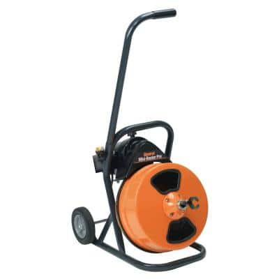 3/8 in. x 75 ft. Mini-Rooter Pro Floor Model Drain Cleaning Machine