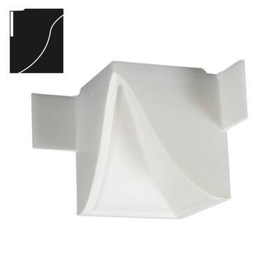 3-1/4 in. x 3-1/4 in. x 4-1/8 in. Economy Inside Corner Plastic Crown Moulding