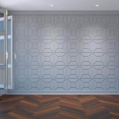"""3/8"""" x 15-3/8"""" x 15-3/8"""" Marion Decorative Fretwork Wall Panels in Architectural Grade PVC"""