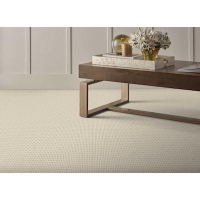 Crescendo - Color Ivory Pattern White Carpet