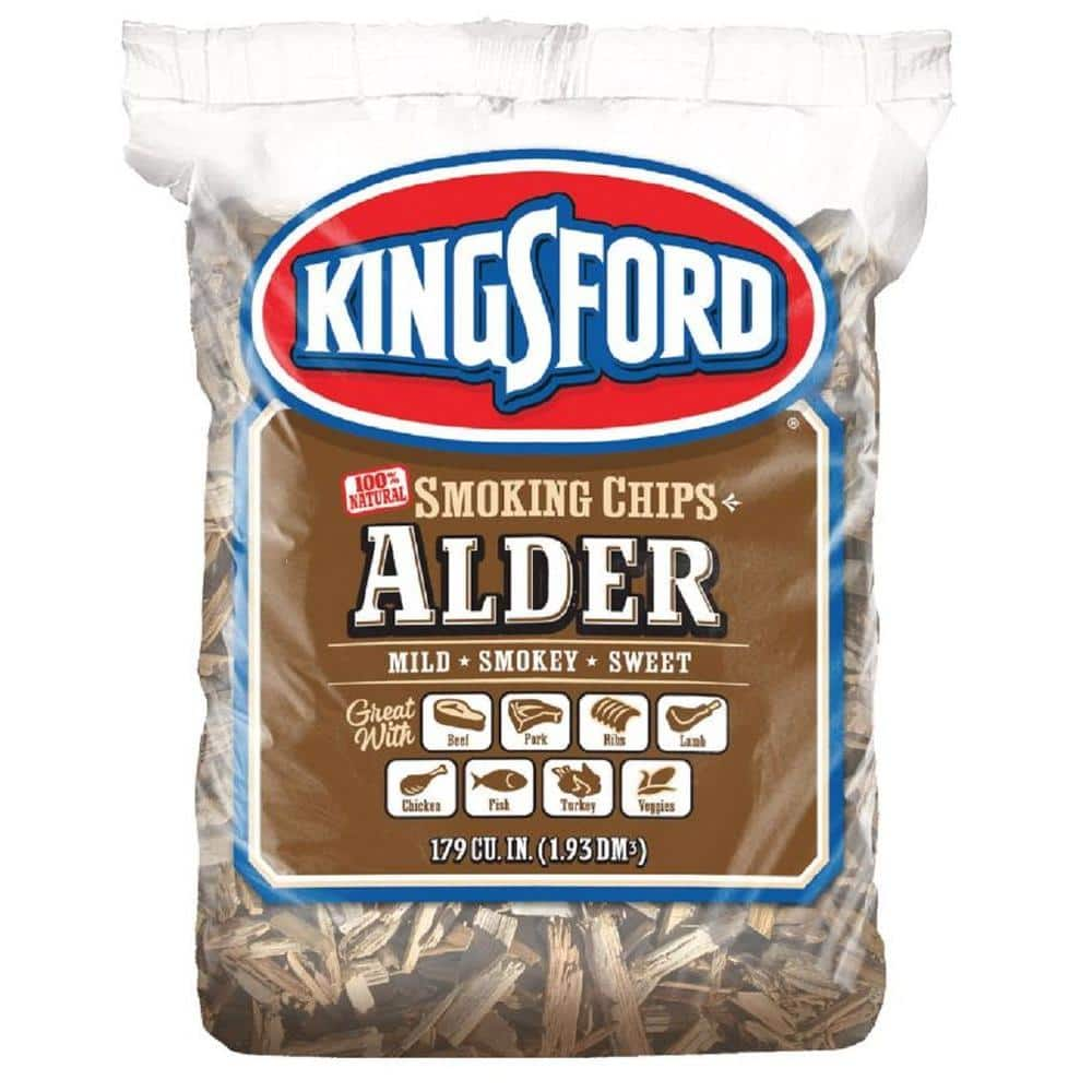 Food Smoking Chips 5x 2ltr Alder Borniak Wood Chips