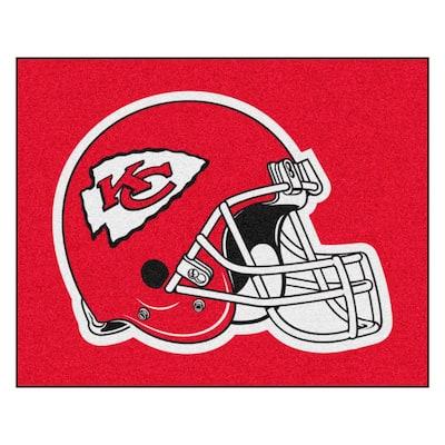 NFL - Kansas City Chiefs Helmet Rug - 5ft. x 6ft.