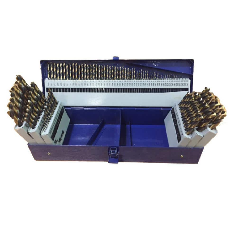 Tivoly 11454170017 G Box of 25 Metal Drill Bits DIN 338 Furius HSS Coated Fusio Diameter 1 to 13 mm