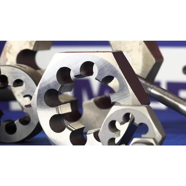 "Drill America 5//8/""-11 Carbon Steel Hex Rethreading Die DWT Series"