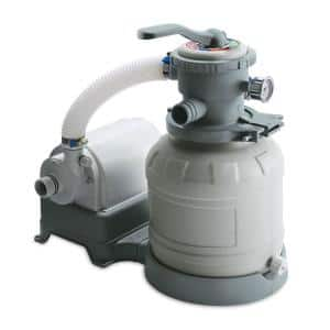 10 in. Sand Filter Pump System for Above Ground Swimming Pools