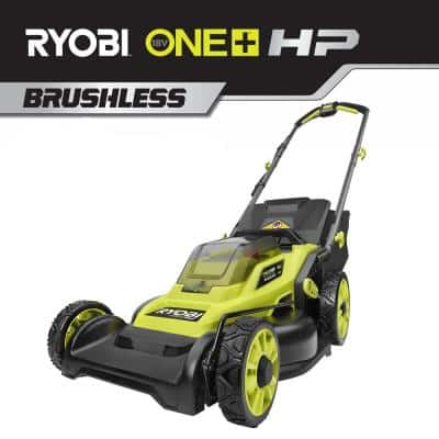 16 in. ONE+ HP 18V Lithium-Ion Cordless Battery Walk Behind Push Lawn Mower (Tool Only)