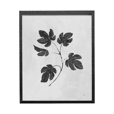 Botanical Study III Framed Art Botanical Print (25.5 in. x 31.5 in.)