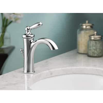 Brantford Single Hole Single-Handle High-Arc Bathroom Faucet in Chrome