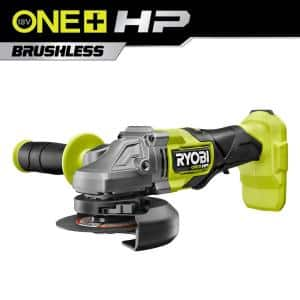 ONE+ HP 18V Brushless Cordless 4-1/2 in. Angle Grinder (Tool Only)