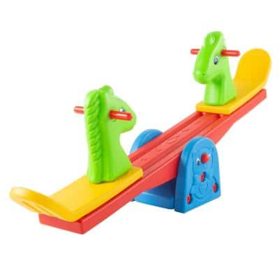 Colorful Animal Seesaw Teeter Totter