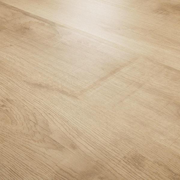 5 In W X 7 L Bleached Woodland Oak, Woodland Oak Laminate Flooring