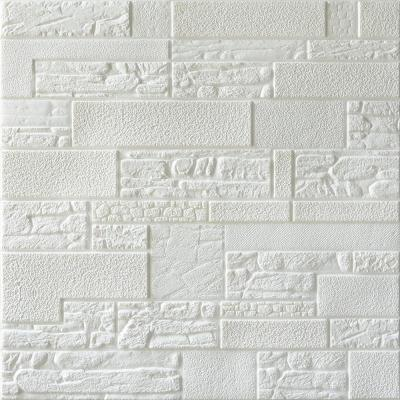 Falkirk Jura II 1/3 in. 28 in. x 28 in. Peel and Stick Off White Faux Stones PE Foam Decorative Wall Paneling (5-Pack)