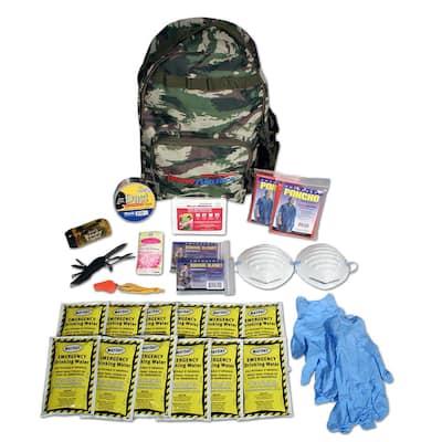 2-Person Emergency Backpack Starter Kit