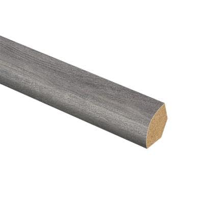 Disher Oak 5/8 in. Thick x 3/4 in. Wide x 94 in. Length Laminate Quarter Round Molding