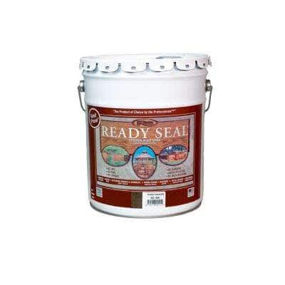 5 Gal. Burnt Hickory Exterior Wood Stain and Sealer