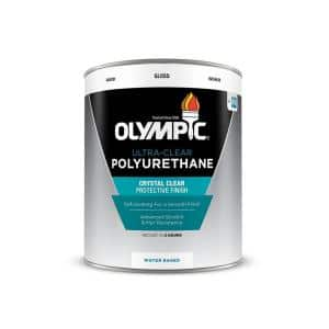 1 qt. Ultra-Clear Gloss Water-Based Interior Polyurethane