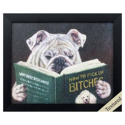 """""""How to Pick Up"""" Framed Wall Art 9 in. x 11 in."""