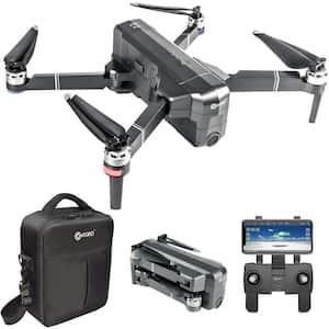 F24 Pro RC Black Quadcopter Drone 4K WiFi Camera Live Video Photos Altitude RTH GPS FPV Brushless Motors