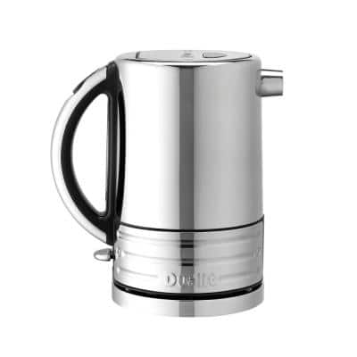 Design Series 6.6-Cup Stainless Steel Electric Kettle with Filter