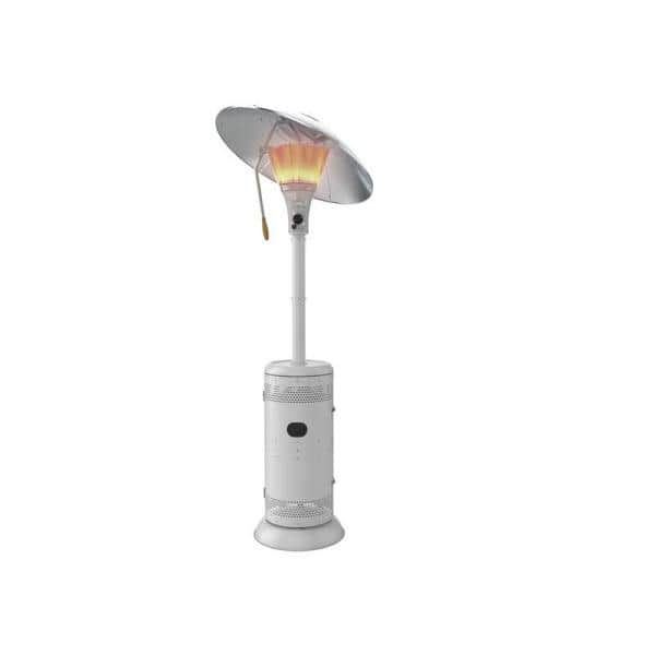 Hampton Bay 48 000 Btu Commercial Grade Heat Focusing Gas Patio Heater Hdmirageco Pc The Home Depot