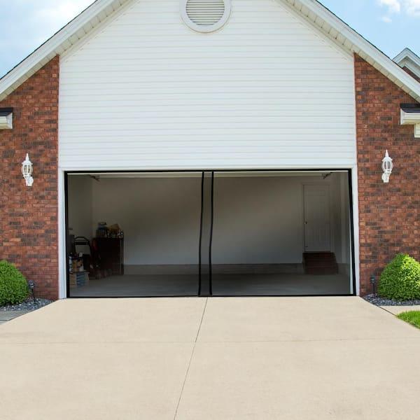 Pure Garden Garage Door Fiberglass, Fiberglass Garage Doors Home Depot