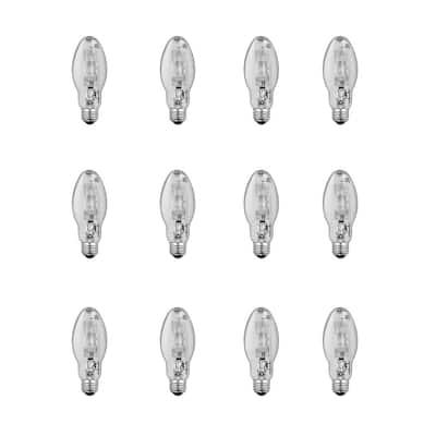 175-Watt ED17 Shape Clear Metal Halide High Intensity Discharge E26 Medium Base HID Light Bulb (12-Pack)