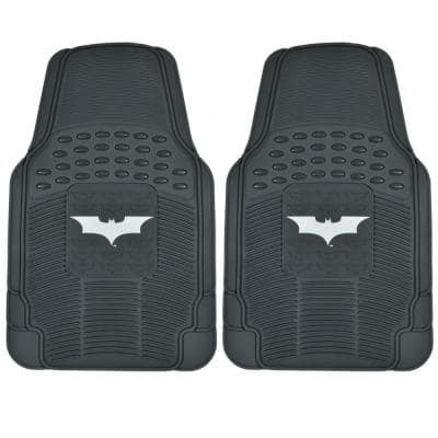 Dark Night Batman WBMT-1472 Rubber 2 Pieces Car Floor Mats