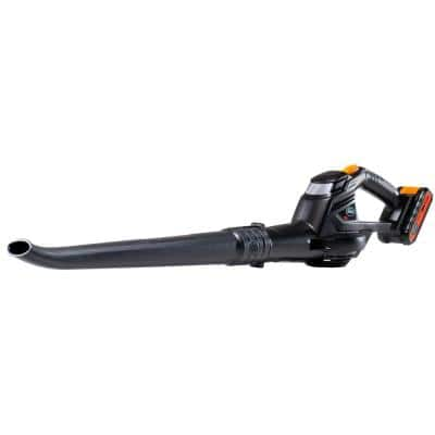 20-Volt 130 MPH 98 CFM Cordless Leaf Blower, 2.0Ah Battery and Fast Charger Included