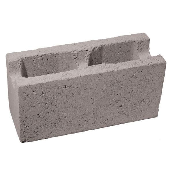 6 In X 8 In X 16 In Gray Concrete Block 100002742 The Home Depot