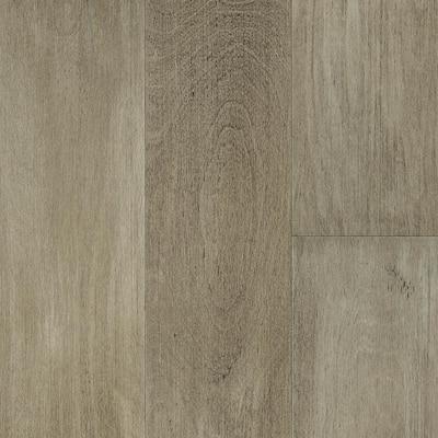 Take Home Sample - Latte Light Birch Waterproof Engineered Hardwood Flooring - 5 in. x 7 in.
