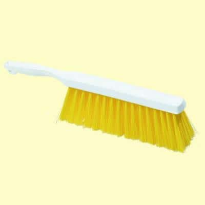 13 in. Yellow Polyester Bench and Counter Brush (Case of 12)