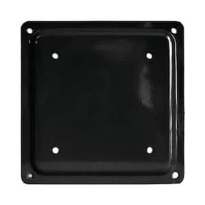 Fixplak 66 Black Decking Base Plate (Pack of 10 Units)