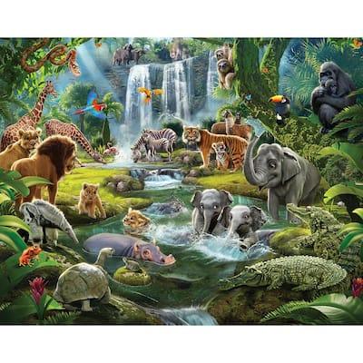Jungle Adventure Wall Mural