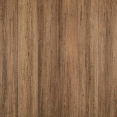 Hillside 7 mm T x 5.12 in. W x 36.22 in. L Waterproof Engineered Click Bamboo Flooring (15.45 sq. ft./case)