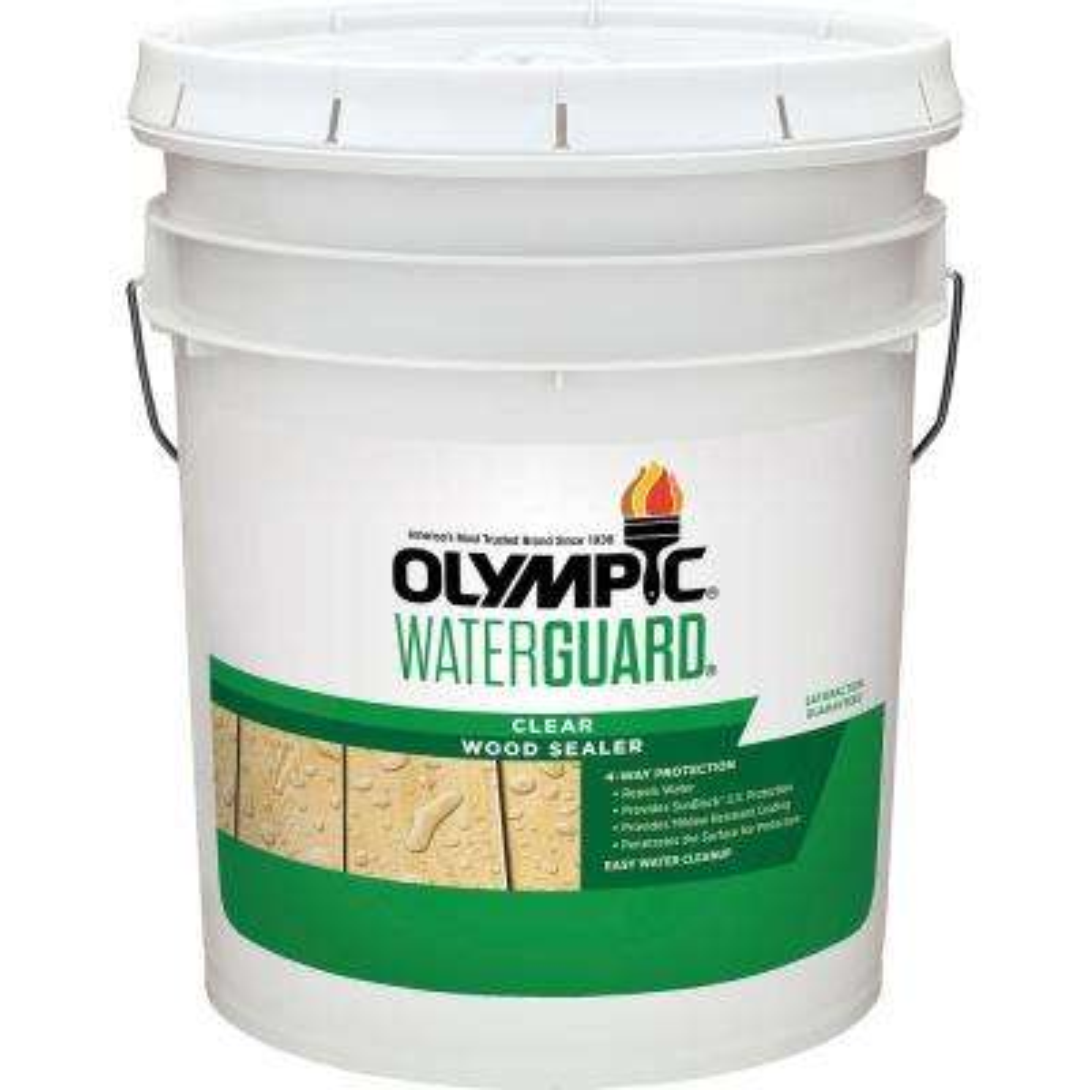 Waterguard 5 gal. Clear Wood Sealer
