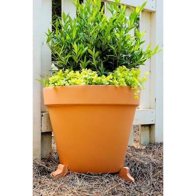 1.5 in. Terra Cotta Clay Pot Planter Feet (Set of 3)
