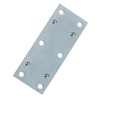 3-1/2 in. Steel Zinc-Plated Double-Wide Mending Plate (8-Pack)