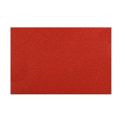 12 in. x 18 in. 60-Grit Sanding Sheet with StickFast Backing