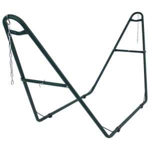 Universal Multi-Use Steel 2-Person Hammock Stand in Green