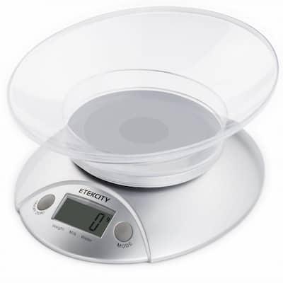 11 lb./5 kg Digital Kitchen Food Scale Volume Measurement Supported