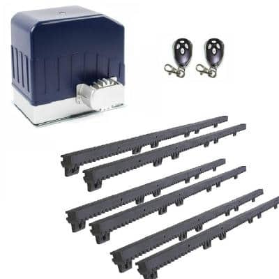 Slide Single Automatic Gate Opener Kit 55 ft. - 1400 lb. Opacity