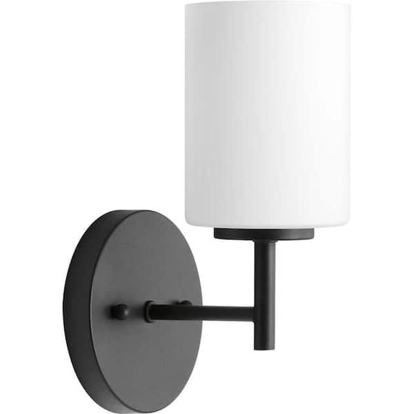 Progress Lighting Replay Collection 1, Modern Bathroom Light Fixtures Black And White