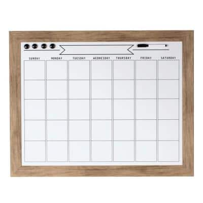 Beatrice Dry Erase Monthly Calendar Memo Board