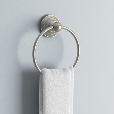 Greenwich Towel Ring in SpotShield Brushed Nickel