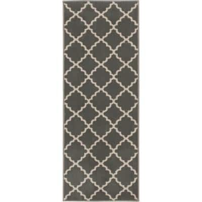 Stratford Lucette Sterling/Birch 26 in. x Your Choice Length Stair Runner