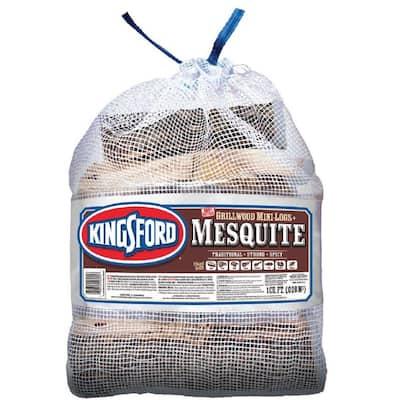 1 cu. ft. BBQ Mesquite Wood Logs