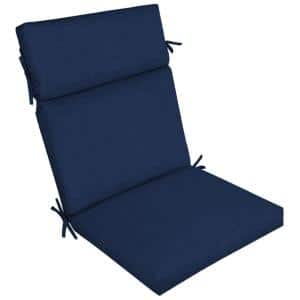 21 x 44 Sapphire Leala Texture Outdoor Dining Chair Cushion