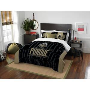 Purdue 3-Piece Multicolored Full Comforter Set