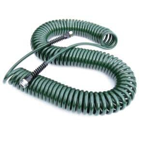 Professional 3/8 in. x 75 ft. Coil Water Hose Rosemary