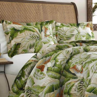 Palmiers Botanical Cotton Comforter Set
